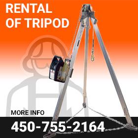 Rental of Tripod